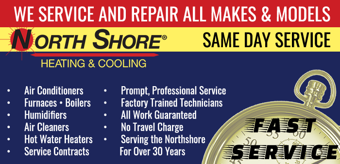 North Shore Heating & Cooling, ready to service your Air Conditioning in Glenview IL